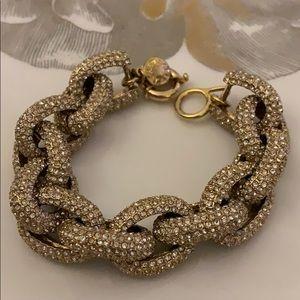 J. Crew gold bracelet